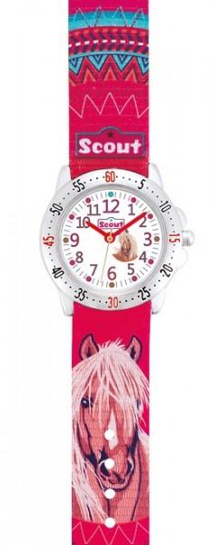Scout Kinder Armbanduhr 280378071 ACTION GIRLS Pferd