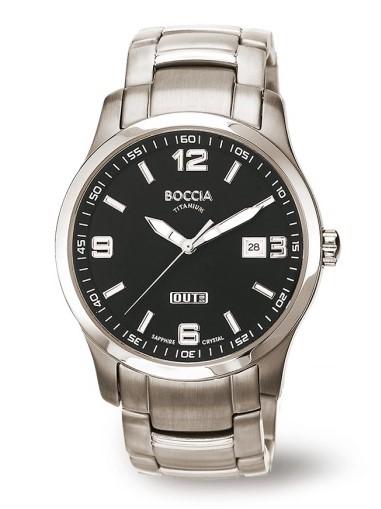 Boccia Herren Armbanduhr 3626-03 Sport