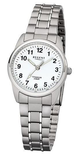 Regent Damen Armbanduhr 7170.90.99 F-1085 Titan