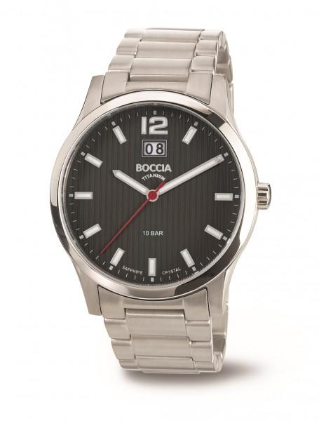 Boccia Herren Armbanduhr 3580-02 Classic