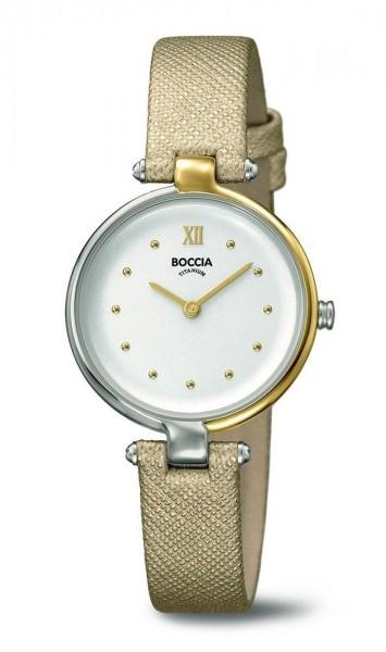 Boccia Damen Armbanduhr 3278-01 Trend