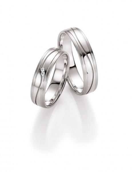 Trauringe Honeymoon Unlimited Harmony Weißgold 66/10010-10020