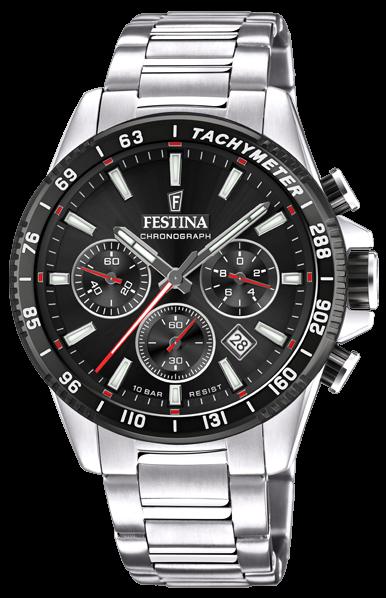 Festina Herren Armbanduhr F20560/6 Timeless Chronograph