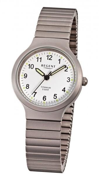 Regent Damen Armbanduhr 7034.90.99 F-275 Titan Zugband