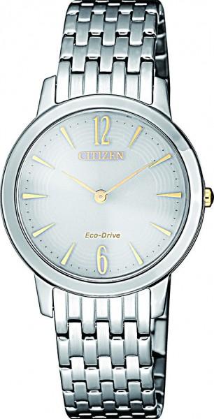 Citizen Damen-Armbanduhr Eco Drive EX1498-87A Elegant