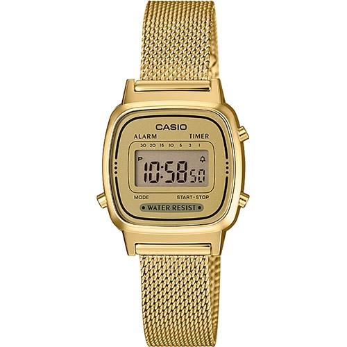 Casio Damen Armbanduhr LA670WEMY-9EF Vintage digital