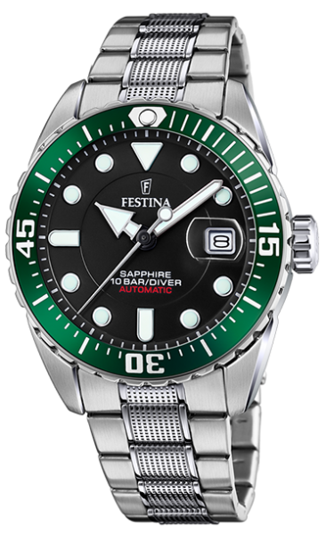 Festina Herren Armbanduhr F20480/2 Automatic