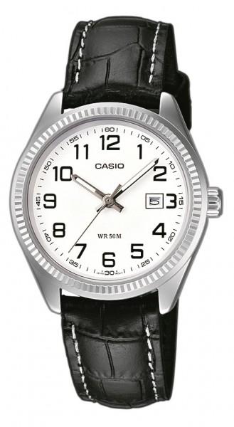 Casio Damen Armbanduhr LTP-1302PL-7BVEF Lederband analog
