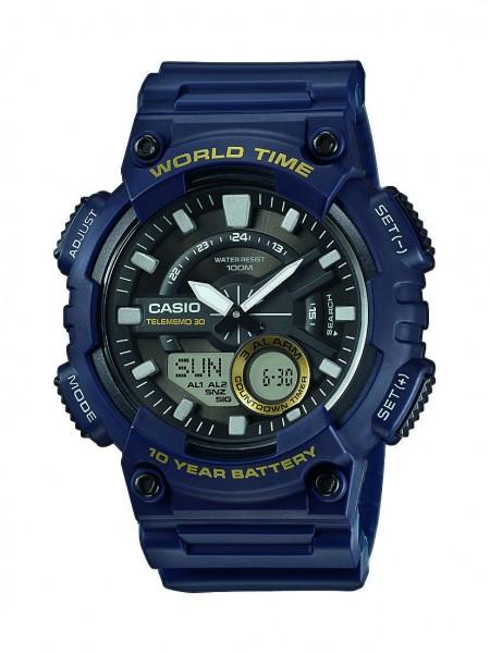 Casio Herren Armbanduhr AEQ-110W-2AVEF Multifunktion analog-digital