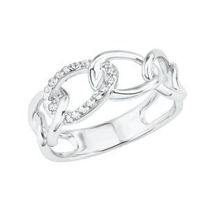 s.Oliver Damen Ring 2028503 Zirkonia Silber