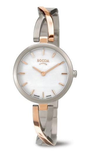 Boccia Damen Armbanduhr 3239-02 Dress