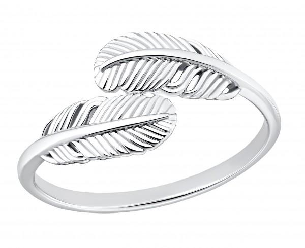 s.Oliver Damen Ring SO PURE 2032582 2032583 2032584 2032585 Feder Silber