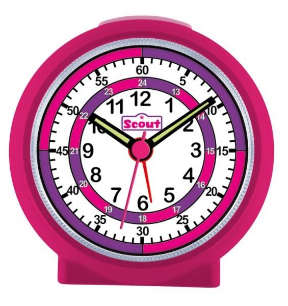 Scout Kinder Wecker Learnthetime 280001015 pink