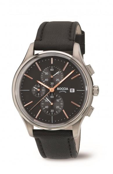 Boccia 3756-02 Herrenchronograph