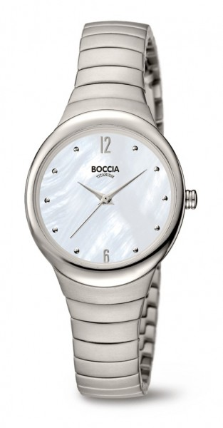Boccia Damen Armbanduhr 3307-01 Trend