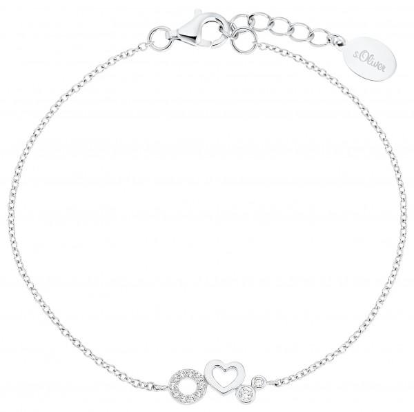 s.Oliver Girls Armband 2031465 Silber Zirkonia