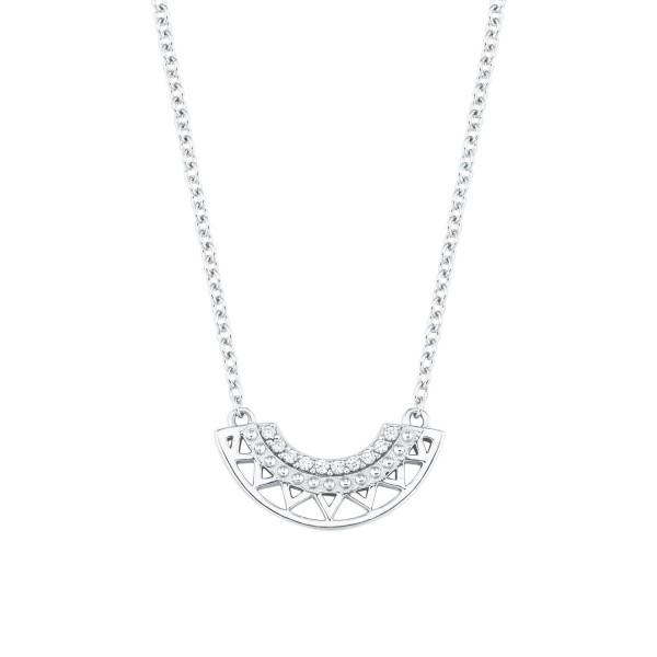 s.Oliver Damen Halskette 2024316 Zirkonia Silber 925 SO PURE