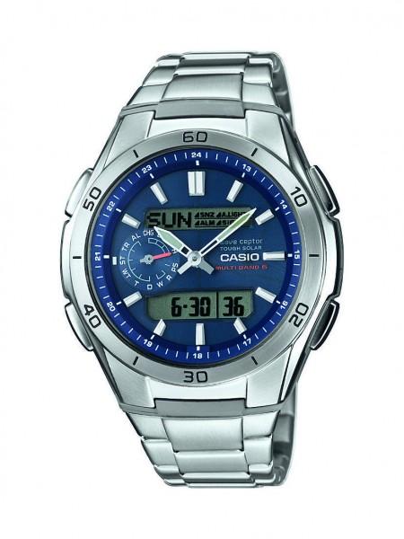Casio Herren Armbanduhr WVA-M650D-2AER Funk Solar