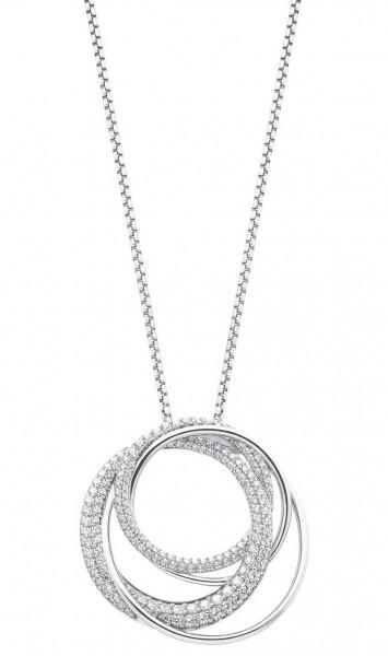 JOOP! Damen Halskette 2027629 Silber Zirkonia