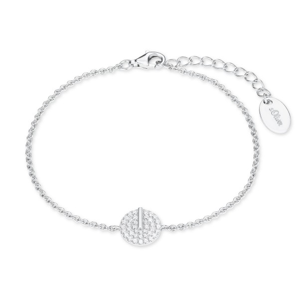 s.Oliver Damen Armband 2022734 Silber Zirkonia
