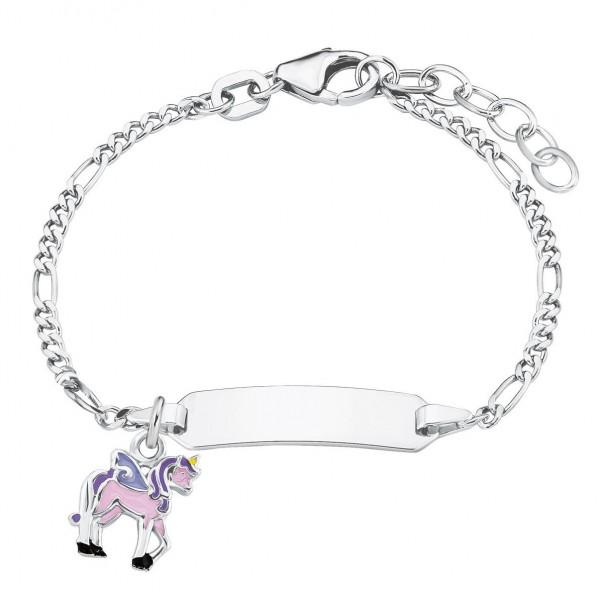 Lillifee Ident Armband 2024378 Einhorn Rosie Silber