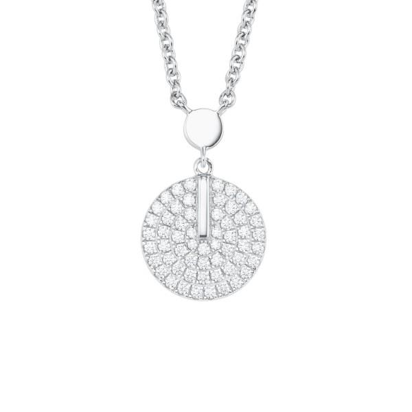s.Oliver Damen Halskette 2025991 Silber Zirkonia