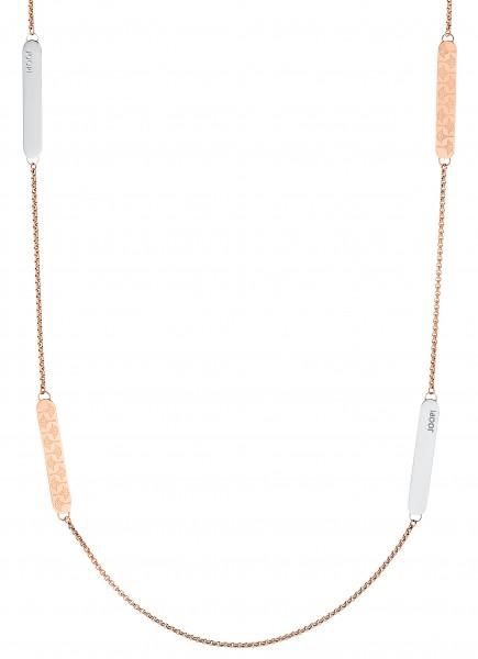 JOOP! Damen Halskette 2031016 Edelstahl rosegold IP