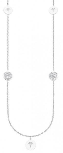 JOOP! Damen Halskette 2027642 Silber Zirkonia