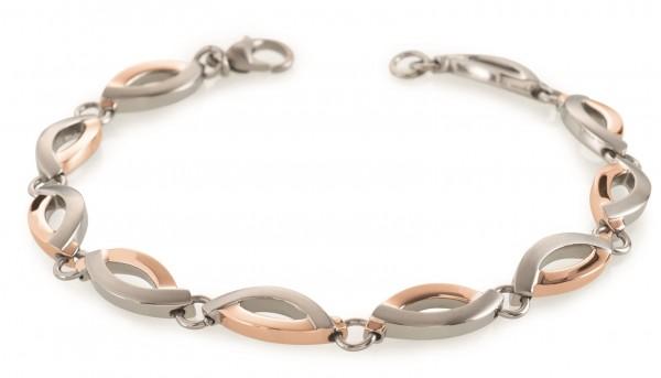 Boccia Damen Armband 03001-03 Titan Rosegold