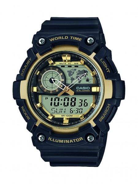 Casio Herren Armbanduhr AEQ-200W-9AVEF Multifunktion analog-digital