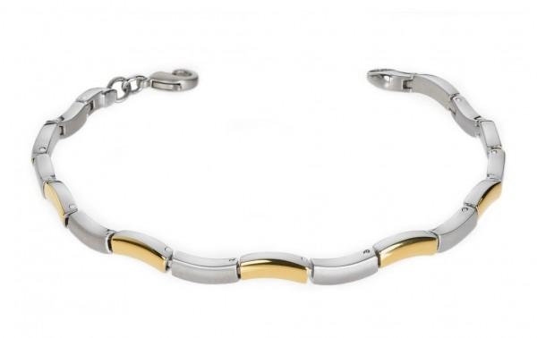 Boccia Damen Armband 0370-02 Titan bicolor