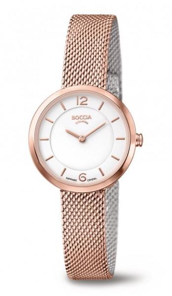 Boccia Damen Armbanduhr 3266-07 Superslim