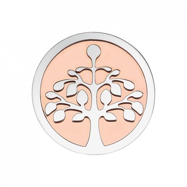 CEM Coins CS245/CS246 Anhänger Lebensbaum rose