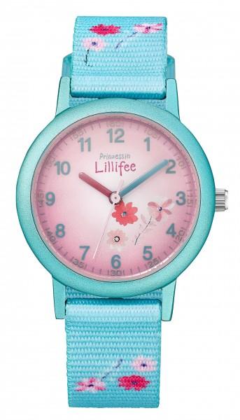 Prinzessin Lillifee Kids - Girls Armbanduhr 2031757 Textilband Blumen