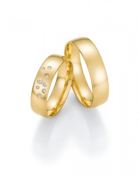 Eheringe Trauringe Solid VII 66/47050 66/47060 Gelbgold