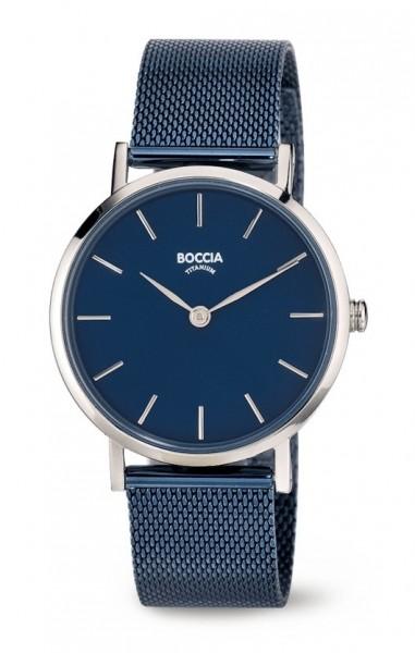 Boccia Damen Armbanduhr 3281-07 Trend blau