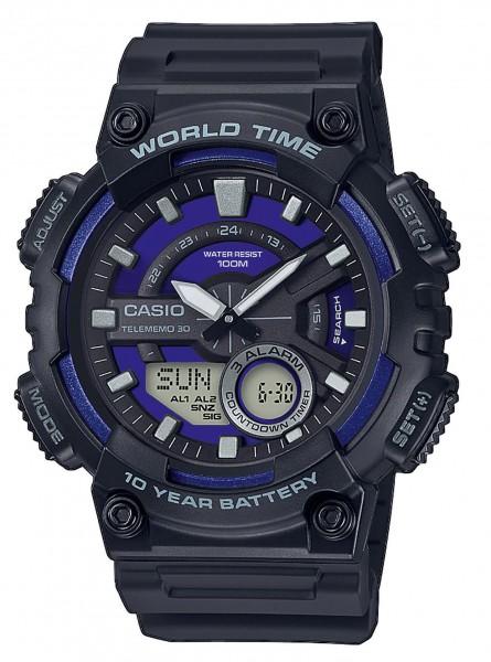 Casio Herren Armbanduhr AEQ-110W-2A2VEF Multifunktion