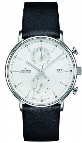 Junghans Herren Armbanduhr 041/4770.00 Chronoscope Form C