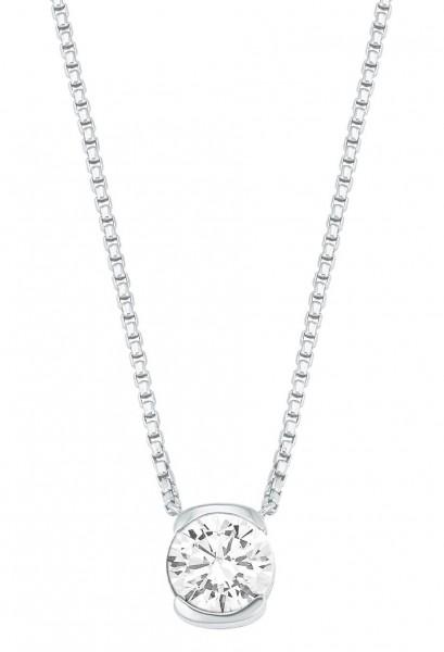 JOOP! Halskette 2026880 Zirkonia Silber