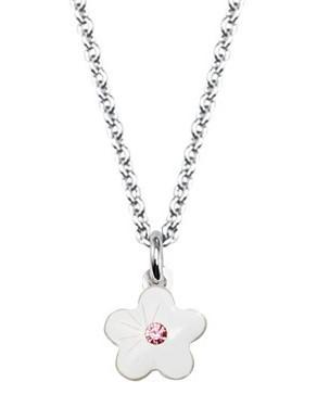 Scout Halskette 261104200 Blume weiß Silber 925