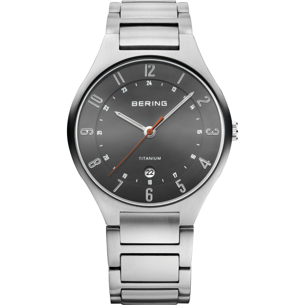 Bering Herren Armbanduhr 11739-772 Titanium