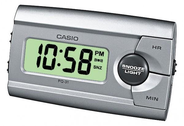 Casio Wecker PQ-31-8EF digital silber