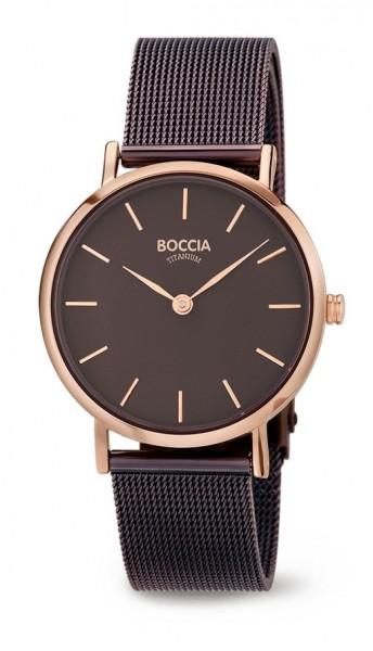 Boccia Damen Armbanduhr 3281-05 Trend roségold IP