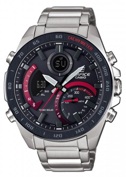 Casio Herren Armbanduhr ECB-900DB-1AER Edifice Solar Bluetooth® Smart