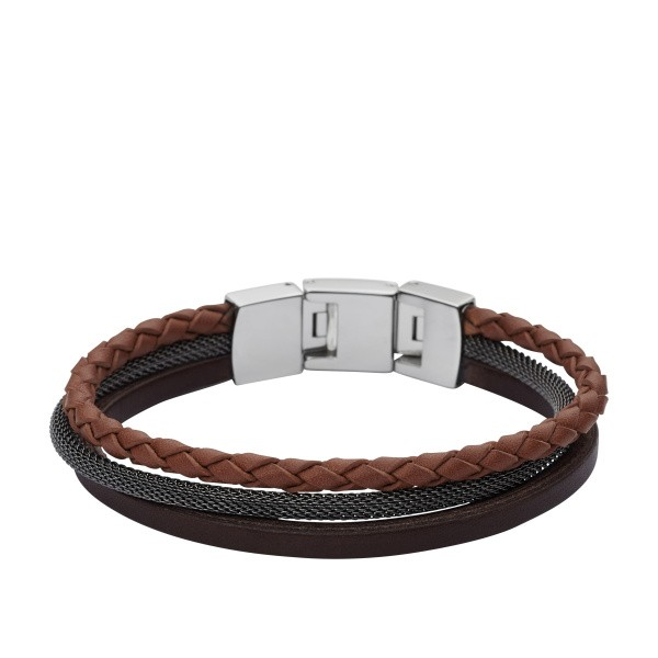 Fossil CASUAL JF02213040 Herrenarmband
