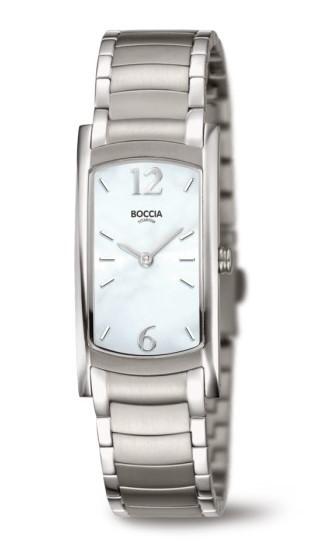 Boccia Damen Armbanduhr 3293-01 Style
