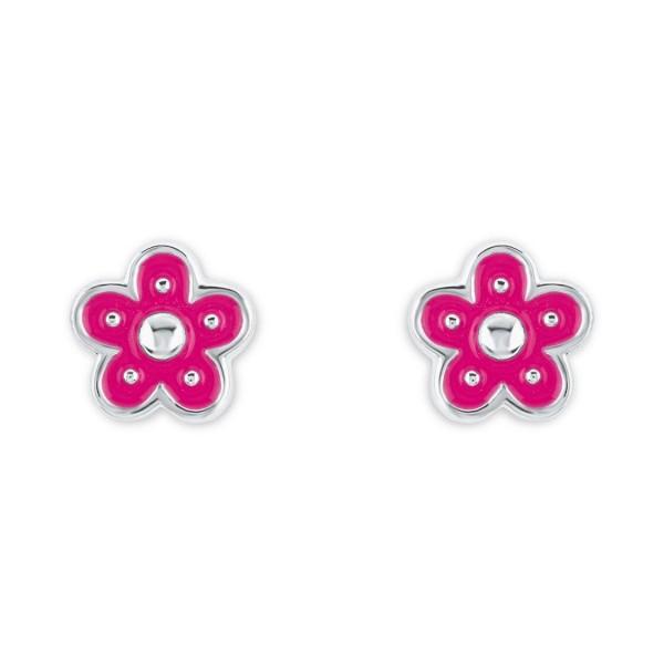Lillifee 2021004 Ohrstecker Blume Silber 925