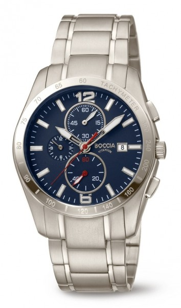 Boccia Herren Armbanduhr 3767-03 Sport Chronograph