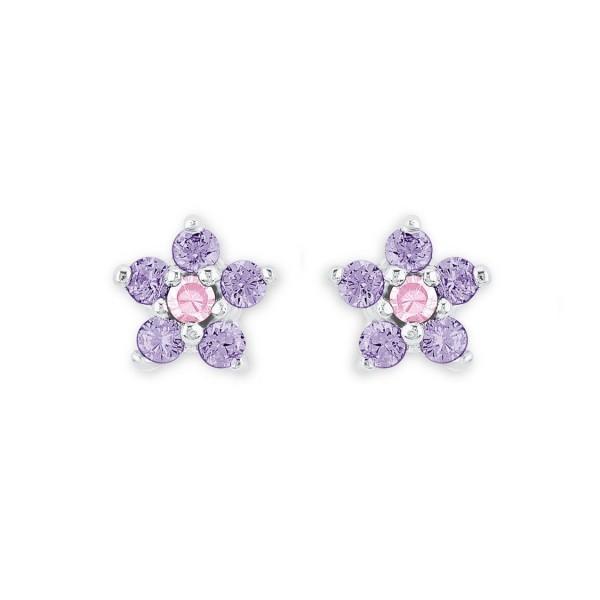 Lillifee 2021109 Ohrstecker Blume Silber 925