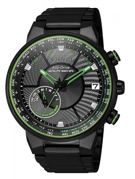 Citizen Herren Armbanduhr Eco-Drive CC3075-80E Satellite Wave GPS